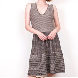 Knitted & Knotted Anthropologie Test Pattern Dress